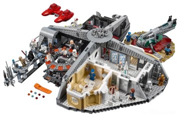 LEGO Star Wars 75222 Betrayal At Cloud City - entire set highres