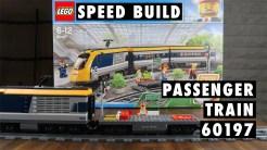 LEGO City Passenger Train 60197 Speed Build