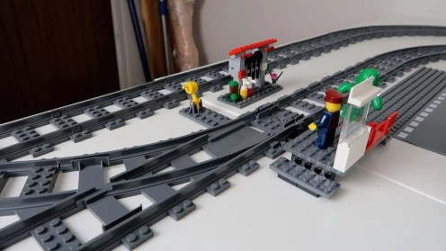 LEGO City Trains Emergency Station