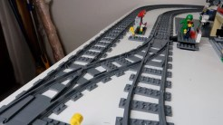Modifying LEGO Train Junctions for Shorter Crossovers - photo 4