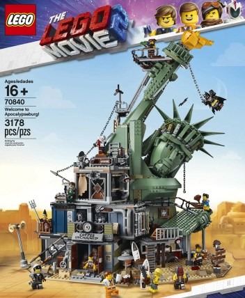LEGO Movie 2 - Welcome to Apocalypseburg 70840 - Box Front 03