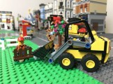 LEGO Construction Loader working on the latest LEGO City Update