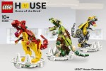 LEGO House Collectable Dinosaur Exclusive Set Revealed (40366)
