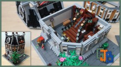 Custom LEGO MOC Sanctum Sanctorum Showdown Modular (76108) YouTube Video thumbnail 2