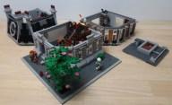 Custom LEGO MOC Sanctum Sanctorum Showdown Modular (76108) expanded