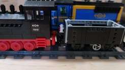 LEGO Train Wagon with 7810 Classic LEGO Train