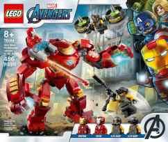 76164 lego iron man hulkbuster versus aim agents - 2 box