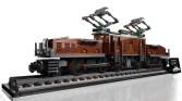 LEGO Crocodile Locomotive (10277) - Display Shot