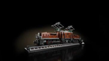 LEGO Crocodile Locomotive (10277) - profile