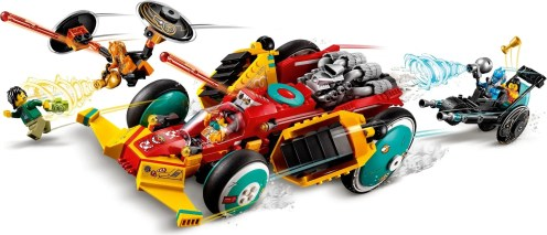 LEGO Monkie Kid's Cloud Roadster 80015 - Hero Shot