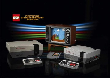 LEGO Nintendo Entertainment System 71374 - Hero Shot