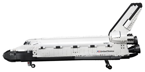 LEGO 10283 NASA Space Shuttle Discovery - Side profile
