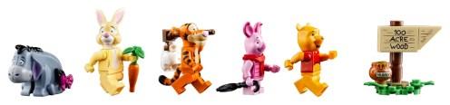 LEGO Winnie the Pooh 21326 - Minifigures
