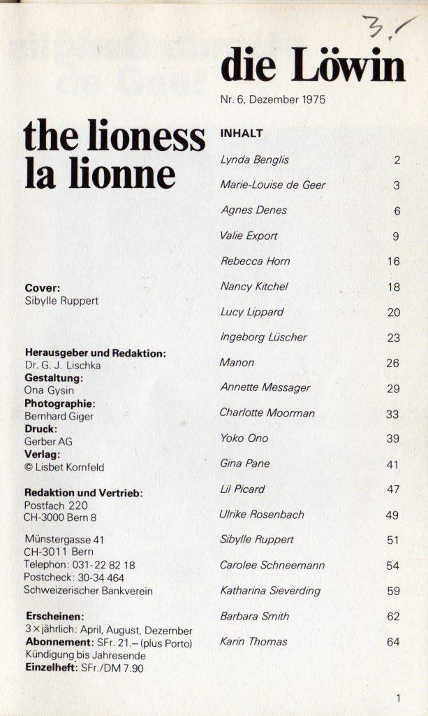 der-lowe-nr-6-die-lowin-6-dez-1975