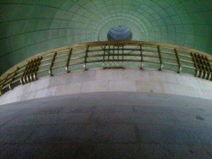 La cúpula, desde adentro