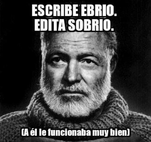 Consejo de Hemingway