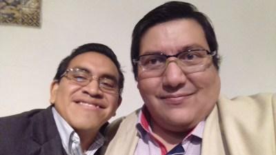 Con Norberto Atriano