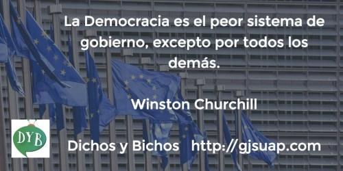 Democracia - Churchill