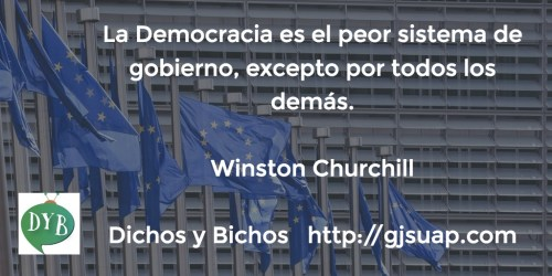 Democracia - Churchill