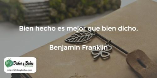 Bien Hecho - Franklin