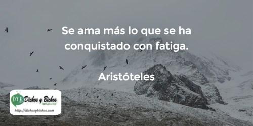 Fatiga - Aristóteles