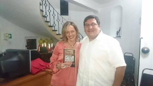 Con Inés Récamier