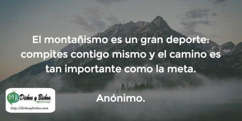 Montañismo - Anónimo