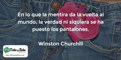 Verdad Mentira - Churchill