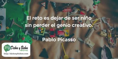 Genio creativo - Picasso