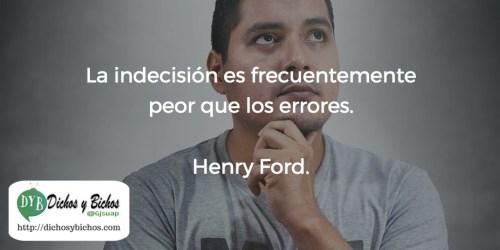 Indecisión - Ford