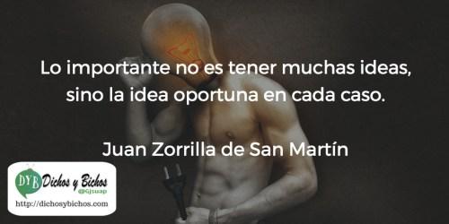 Ideas - Zorrilla