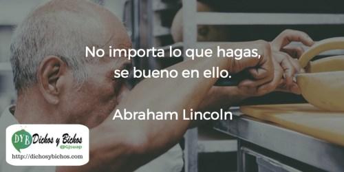 Se bueno - Lincoln