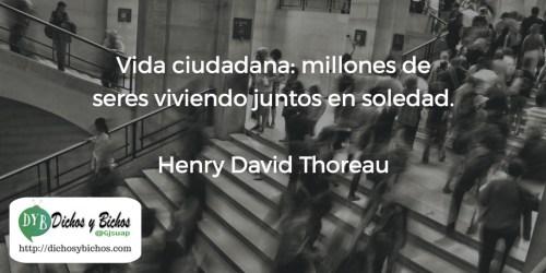 Ciudadana - Thoreau