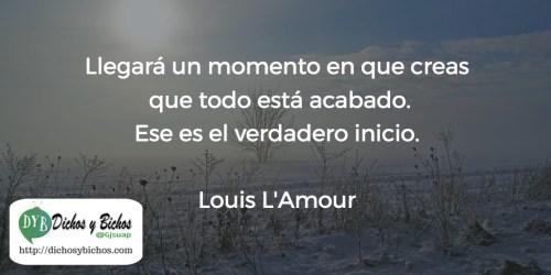 Verdadero inicio - L'Amour