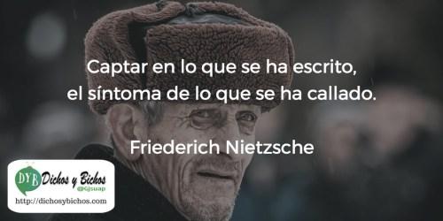 Captar -Nietzsche
