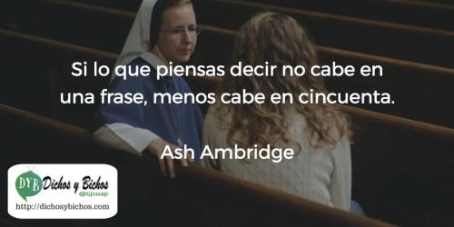 Frase - Ambridge