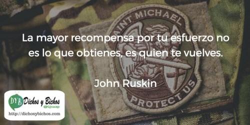 Recompensa - Ruskin