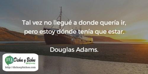 Llegar - Adams