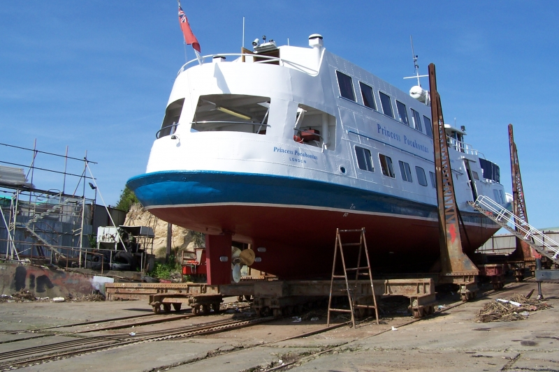 Princess Pochantos Passenger Ferry - G J Wisdom Commercial Auctioneers (Bexley, London)