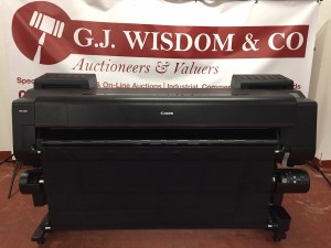 GJWisdom Sidcup Auctioneers - Canon Image Prograf 6000 Auction0
