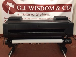 GJWisdom Sidcup Auctioneers - Canon Image Prograf 6000 Auction1