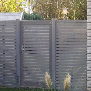 Rhombus Tür aus Holz Lärche