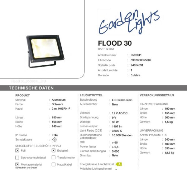 LED-Flaechenstrahler-Flood 30