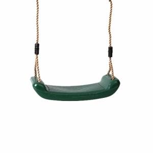 Schaukelsitz aus Kunststoff grün