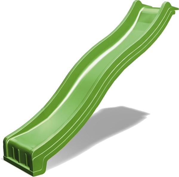 Wellenrutsche apfelgrün