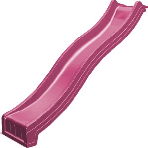 Wellenrutsche pink