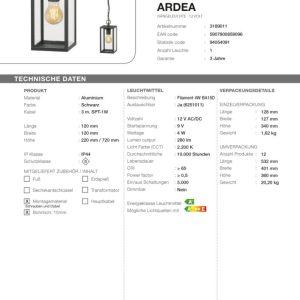 LED Hängeleuchte Ardea