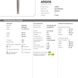 LED Standleuchte Argos