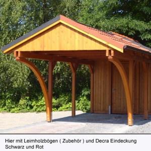 Carport Leipzig aus Lärche