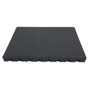 Fallschutzplatten schwarz